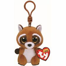 Ty Beanie Babies 36564 Boos Rusty the Raccoon Boo Key Clip