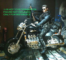 1/6 Scale MOTORCYCLE BIKE FOR Hot Toys T800 Terminator DX10 Battle Damaged DX13