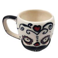 Mug Coffee Ceramic Clay Decorated Handmade  Khurja Pottery Art