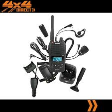 UNIDEN 5W UHF HANDHELD CB RADIO HEAVY DUTY WATERPROOF CAR PACK UH850S-DLX