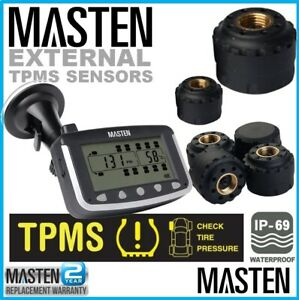 Tyre Pressure Monitoring System Waterproof External Sensors For Caravan Truck
