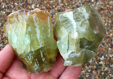 1 x Green Calcite Crystal mineral specimen. Ref:GCL Crystals