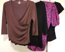 Mixed Lot Black Pink Brown Tops Women's S 6-8