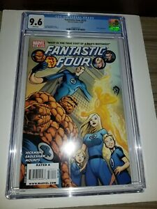 Marvel Comics CGC 9.6 Fantastic Four 570 First Appearance Council of Reeds