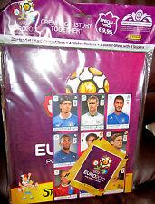 Euro 2012 / EM 2012 /Starter Pack / Hard-Cover Album + 4 Tüten Sticker /Neu/OVP