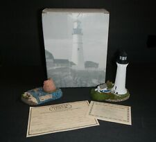 New listing Round Island, Mississippi - # 242 / Then & Now - Harbour Lights Lighthouse 2 Pc.