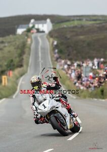 2018 TT John McGuinness Norton Parade lap photo