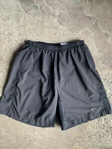 Mens Nike Dri Fit Running Shorts Size Medium black