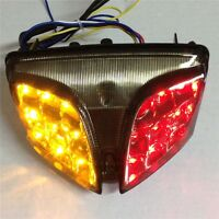 For Brake Tail lights For 2008-2013 GSXR 600 GSX-R600 750 GSX-R750 Clear LED
