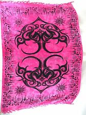 large tattoo tribal sarong pink beach Clothing for Men