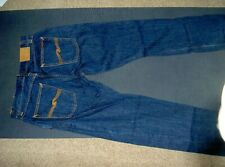 New Nudie Thin Fin  Blue Jeans - Size 33 / 34  Organic cotton