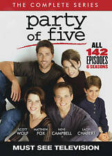 Party of Five: The Complete Series SEASON 1 2 3 4 5 6 (DVD, 2016, 24-Disc Set)
