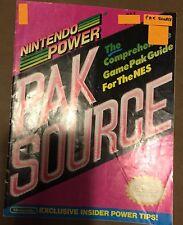 nintendo power magazine catalog of all original Nintendo games rare rare