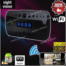 Home Security Video Camera P2P IP WIFI HD Wireless Alarm Clock (No SPY hidden