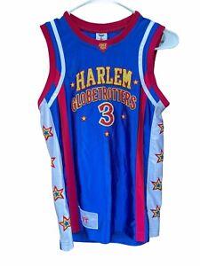 HARLEM GLOBETROTTERS Basketball Jersey Firefly Fisher #3 YOUTH Women Sze Small