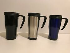Stainless Steel Travel Mug 14 oz - Travel Flask with Handle