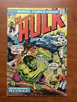 The Incredible Hulk #180 (1st Cameo Appearance Of Wolverine) 1974 Marvel Comics