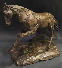 Very Rare Kaiko Moti ? Bronze Horse Sculpture Stallion Valsuani Foundry @1950-53