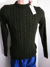New Mens Superdry Jacob Heritage Sweeter fitted sz S Green @10