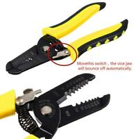 Wire Cable Stripper Pliers Crimping Tool Adjustable Pro. Electrician Tool