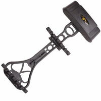 Black Detachable Arrow Web 6 Arrow Quiver Holder Compound Bow Hunting Archery
