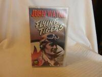 Flying Tigers (VHS, 1992) Hard Case, John Wayne