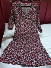 Boden Dress Viscose Size 16 Immaculate