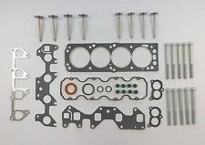 HEAD GASKET SET BOLTS VALVES ASTRA NOVA VECTRA 1.6 8V X16SZR C16SE C16NZ 91-01
