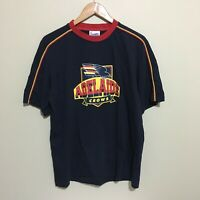 Adelaide Crows Vintage Logo AFL Football T-Shirt Mens Large