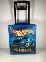 HOT WHEELS Car Case 20375 Holds 100 Cars Mattel 2002 USA 3D Logo And Label