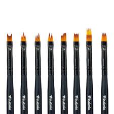 Winstonia Nail Art Brushes Set for Flower Gradient Manicure Design Polish Uv Gel