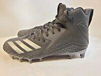 New Adidas FREAK X CARBON Mid Black/Black Football Cleats CG4404 Men's Size 7