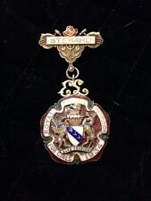 Stunning Solid Silver Masonic Jewel - 1934 Royal Masonic Institution For Girls