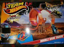 Hot Wheels Team Hot Wheels Double Dare Snare Track Set Toy  NIB