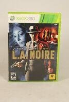 L.A. Noire (Microsoft Xbox 360, 2011) Complete