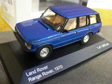 1/43 White Box Land Rover Range Rover blaumetallic WB177