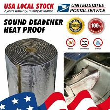 Heat Shield Sound Deadener Material Engine Insulation Foam With Aluminum 78