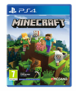 PS4 PLAYSTATION Minecraft Bedrock GAME