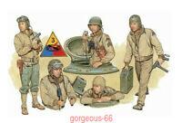 DRAGON 1/35 6054 U.S. Tank Crew (NW Europe 1944)