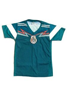 Climacool Mexico Soccer Jersey Size Youth Medium (12) Green