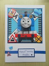 Hand-Made Children's Birthday Card-Any Age-Can be Personalised