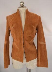 Roberto Cavalli size XS Suede Leather Jacket Blazer
