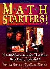 Math Starters!: 5- To 10-Minute Activities That Ma