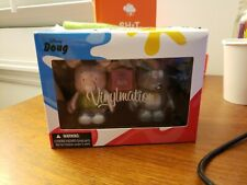 "Disney Vinylmation 3"" Park Set 2 Disney Afternoon Doug and Porkchop in Box"