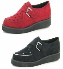 Creepers Suede Flats for Women