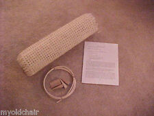 """Chair cane caning  seat webbing weaving repair replacement kit  Breuer 18"""" x 18"""""""