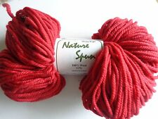 Chunky Weight Nature Spun byBrown SHeep Company Red