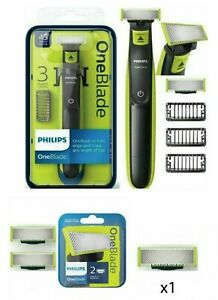 Philips OneBlade Electric 3 Comb Trimmer Shaver Or OneBlade refill Cartridges