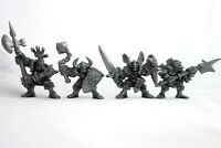 Knights, 4 Fantasy Plastic Toy Soldiers from Russia, 54mm, Oritet, RARE
