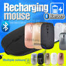 Rechargeable Slim Wireless Bluetooth Mouse for Surface iPad Android Tablets PC's